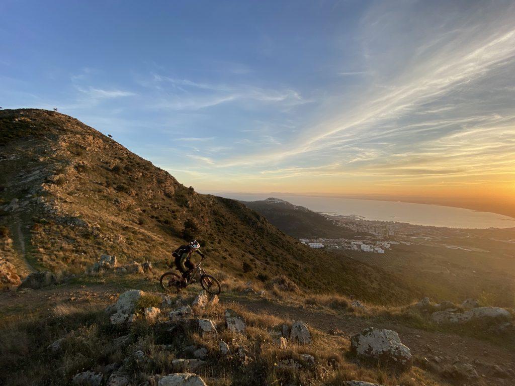 Mountain biking in Cap de Creus