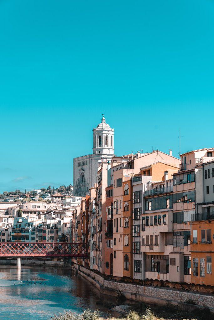 Waterfront in Girona