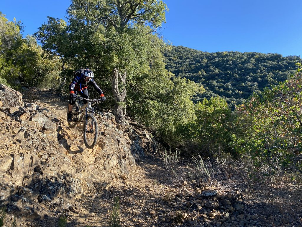 One of the classic descents near Girona: the Sant Grau 500