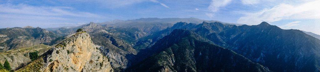 Sierra Nevada mountain range