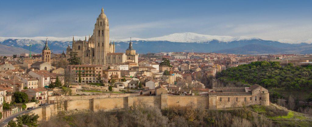 The old city of Segovia
